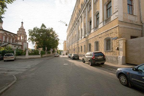 Хитровский переулок в Москве