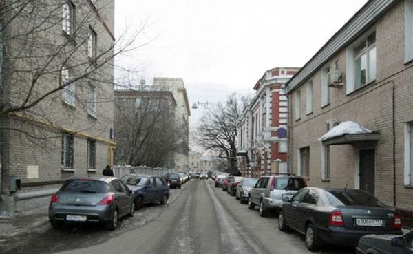 Хомутовский тупик в Москве