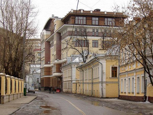 1 Кадашевский переулок в Москве