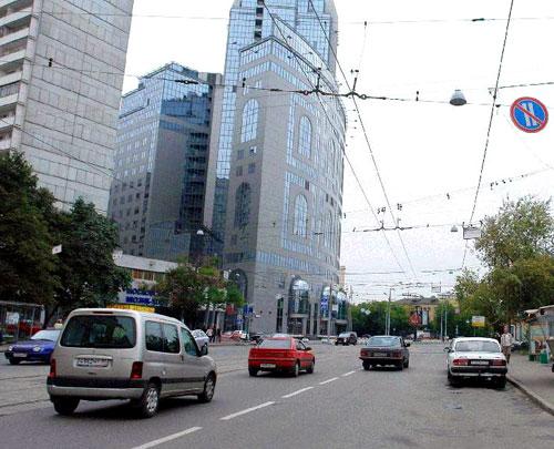 Каланчевская улица в городе Москве