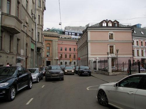 Калошин переулок в Москве