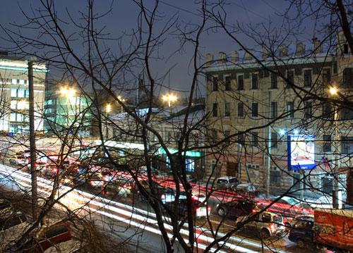 Улица Каретный Ряд в Москве