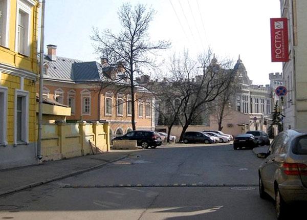 Колпачный переулок в Москве
