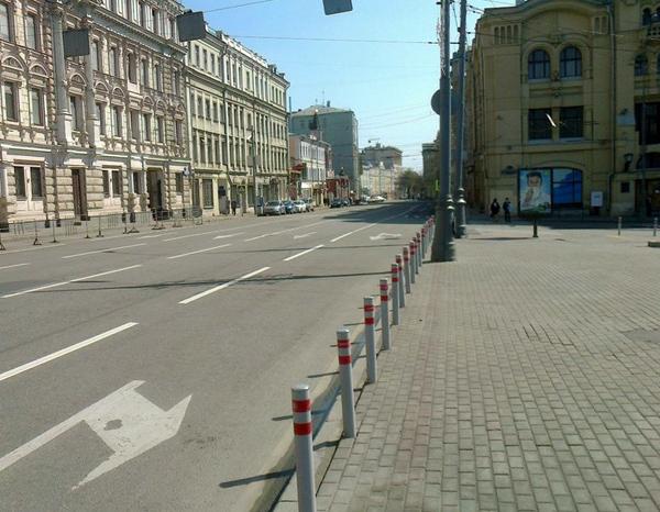 Лубянский проезд в Москве