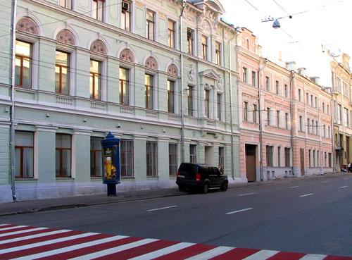 Улица Малая Лубянка в Москве