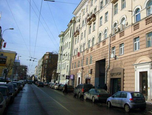 Улица Малая Никитская в Москве