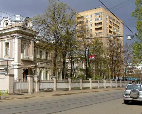 Улица Новокузнецкая в городе Москве