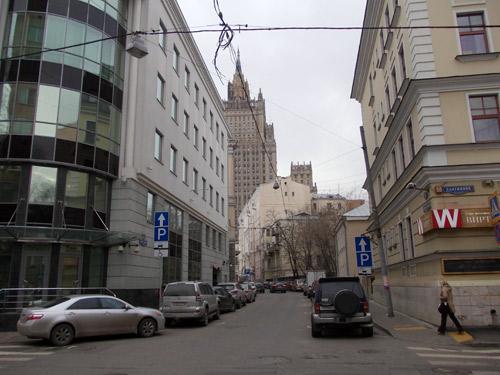 Переулок Сивцев Вражек в Москве