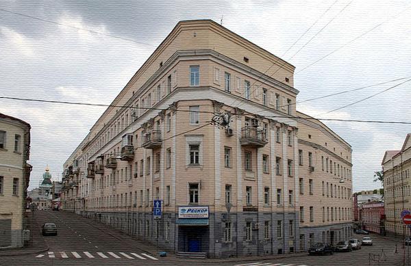 Певческий переулок в Москве