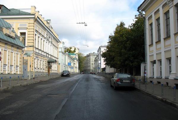 Подсосенский переулок в Москве