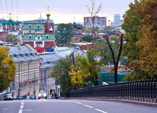 Рождественский бульвар в Москве