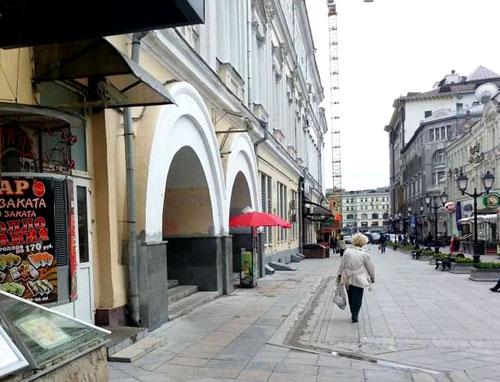 Улица Рождественка в Москве