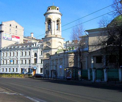 Улица Солянка в Москве