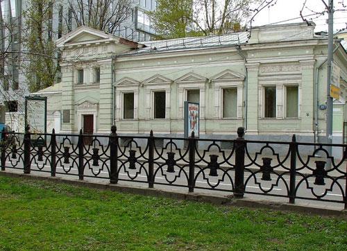 Страстной бульвар в Москве