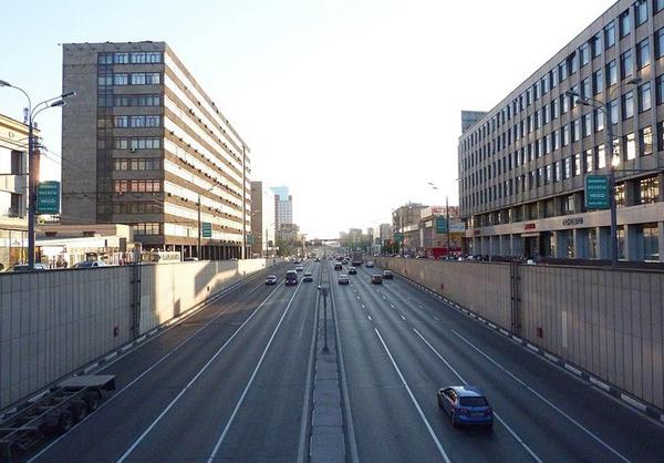 Улица Сущевский Вал в Москве