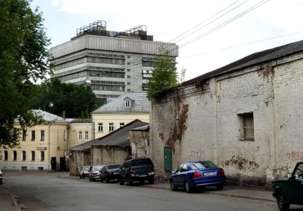 Сыромятнические переулки и проезд в Москве