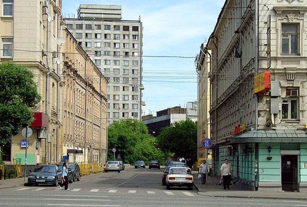 Улица Казакова в Москве