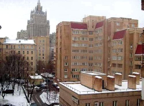 Большой и малый Власьевский переулок в Москве