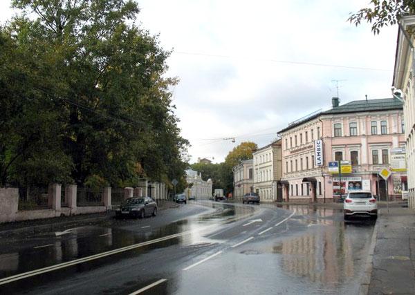 Улица Воронцово Поле в Москве