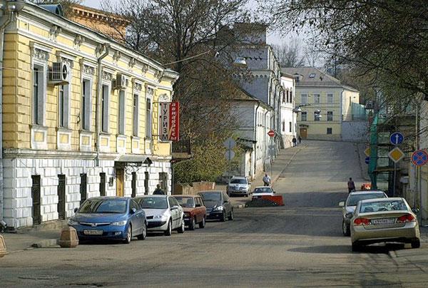 Хохловский переулок в Москве