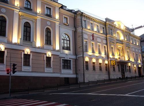 Улица Знаменка в Москве