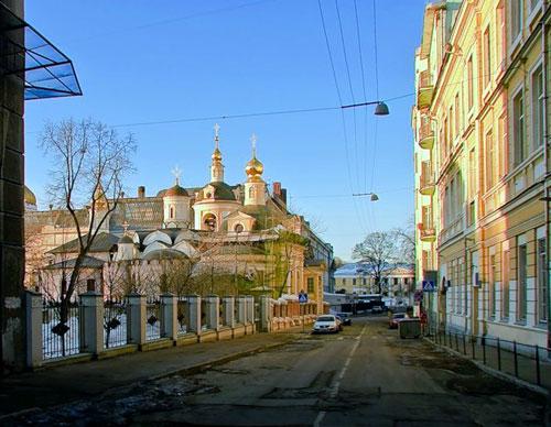 Большой и Малый Знаменский переулок в Москве