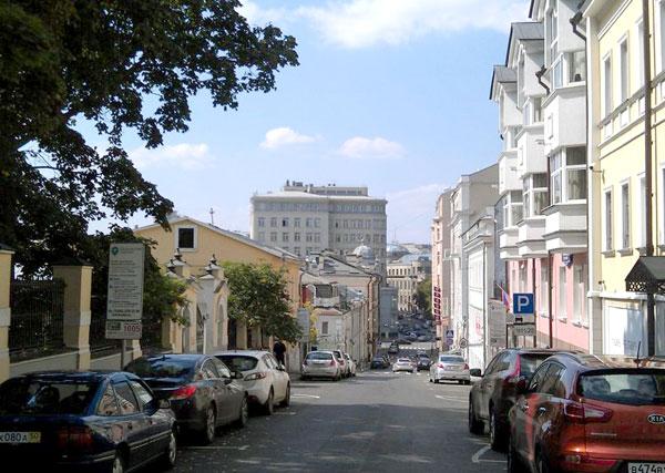Звонарский переулок в Москве