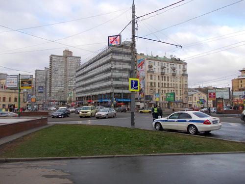 Площадь Арбатские Ворота в Москве