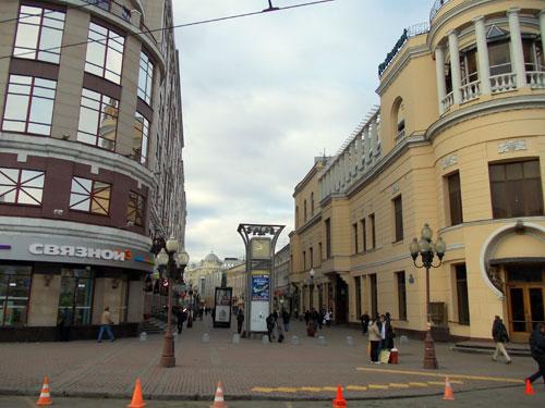 Улица Арбат в Москве