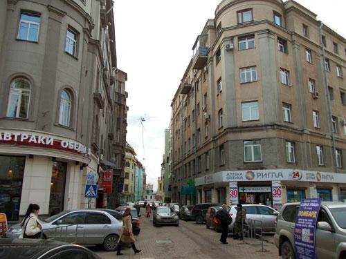 Большой Афанасьевский переулок в Москве