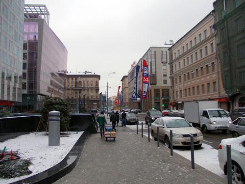 Большая Грузинская улица в Москве