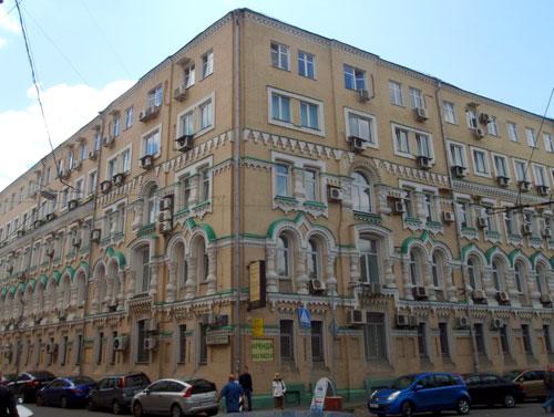 Электрический переулок в Москве