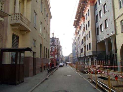 Филипповский переулок в Москве