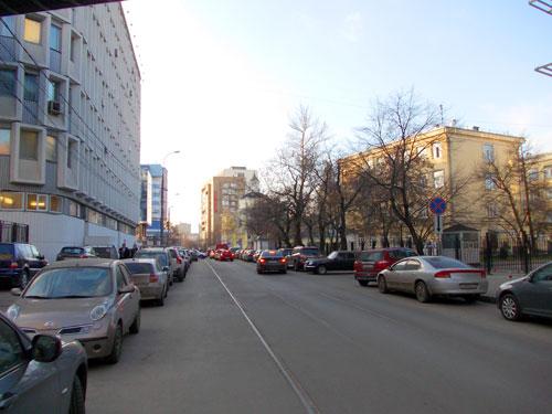 Улица Гиляровского в Москве