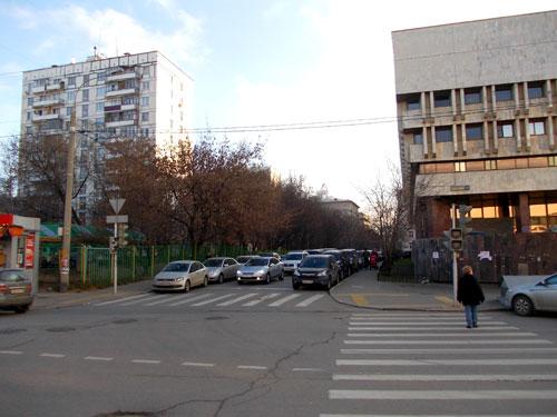 Капельский переулок в Москве