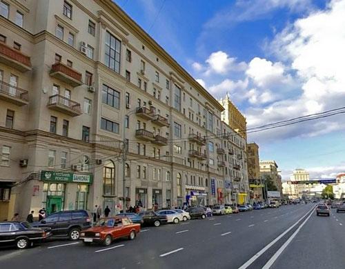 Проспект Мира в городе Москве