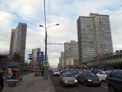 Новый Арбат в Москве