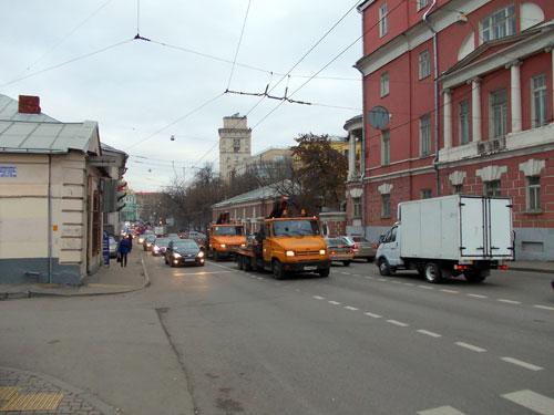 Спартаковская улица в Москве