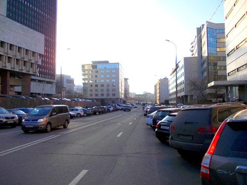 Улица Щепкина в Москве