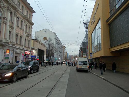 Бауманская улица в Москве