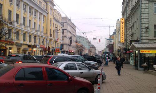 Улица Малая Дмитровка в Москве