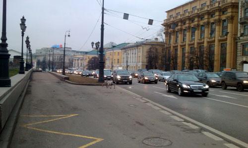 Улица Моховая в Москве