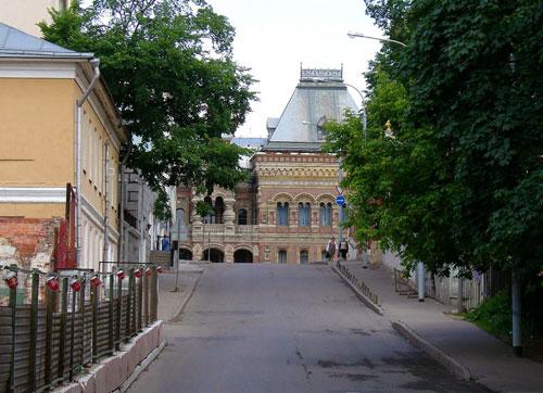 Якиманский переулок и проезд в Москве