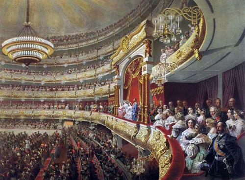 Спектакль в большом театре москвы по