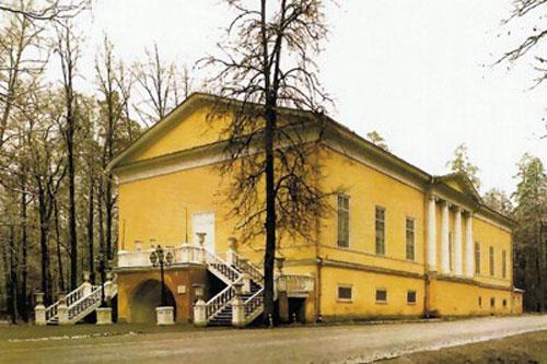Театр в усадьбе Архангельское